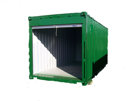 Johnny boxes home page for 12 foot roll up door